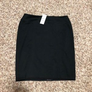 Black pencil skirt from LOFT